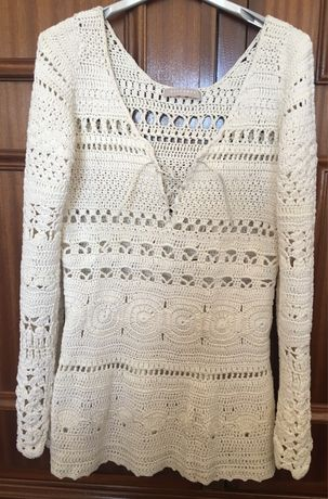 Camisola de crochet - NOVA