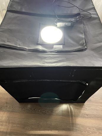 Namiot Bezcieniowy Duży Fotograficzny LED Puluz 80cm