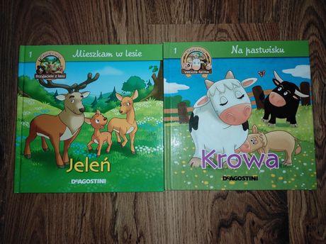 książka o krowie i o jeleniu