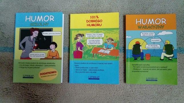 Książka z humorem, dowcipy, kawały