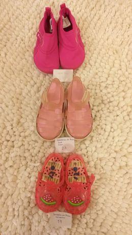Sandálias/sapatilhas/pantufas alentejanas T19a27