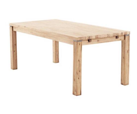 Drewniany lakierowany stól kuchenny