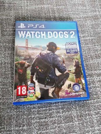 WATCH DOGS 2 PL - PS4 - używana