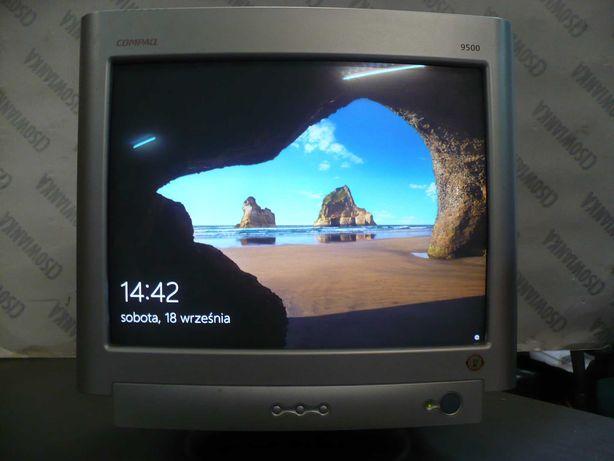 monitor crt 19cali Compaq 9500