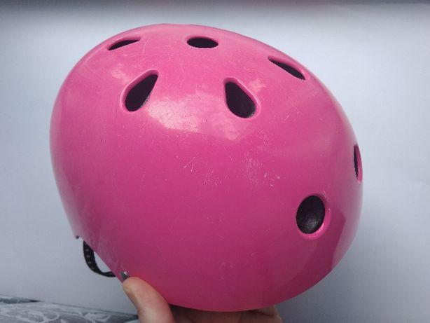 Детский шлем велосипедный, для роликов/скейта, размер 50-52см