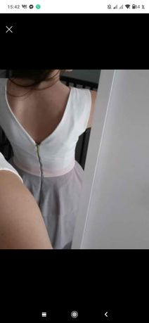 Sukienka tiul rozkloszowana
