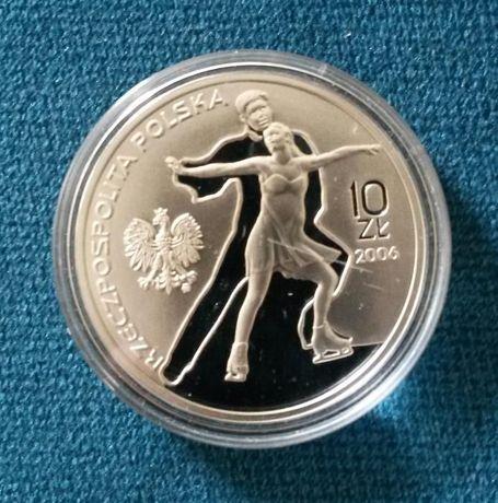 XX Zimowe Igrzyska Olimpijskie:Turyn 2006 -10zł nominał moneta srebrna