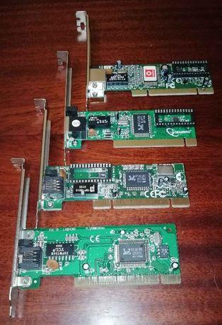 Мережеві карти (LanCard) PCI на чіпсеті RTL 8139B/C/D