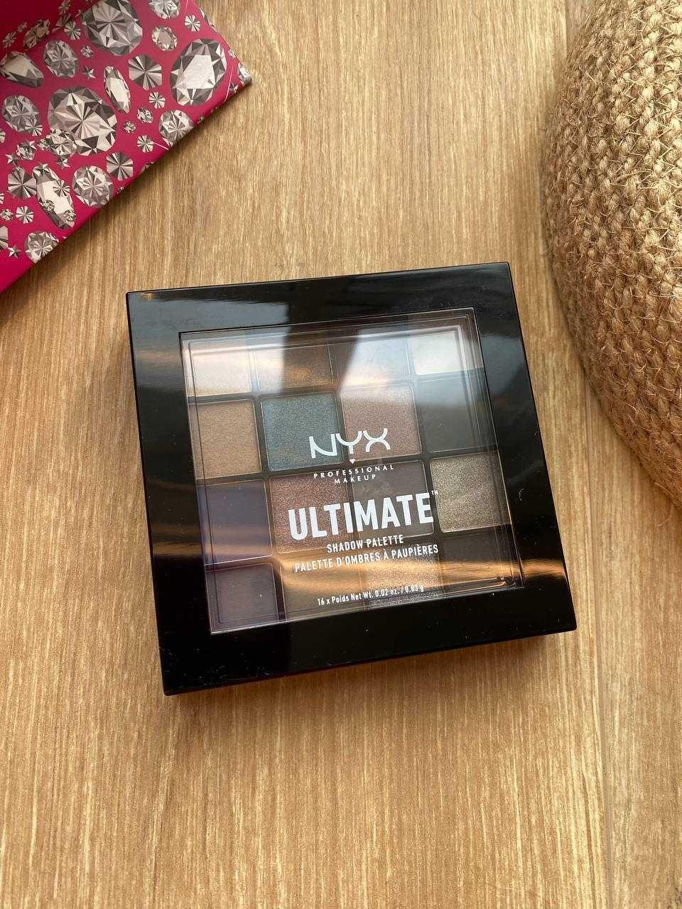 NYX Professional Makeup Ultimate теней 10 Ash НОВАЯ/ОРИГИНАЛ