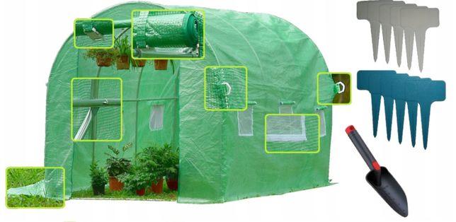 Tunel foliowy szklarnia 2x3 folia UV-5 + GRATISY