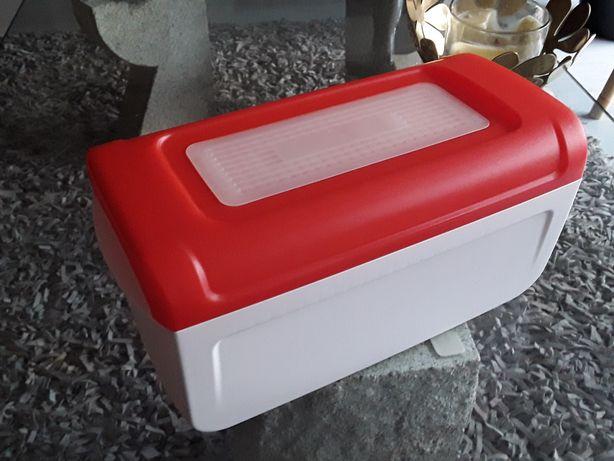 Caixa Tupperware para pão forma, nova