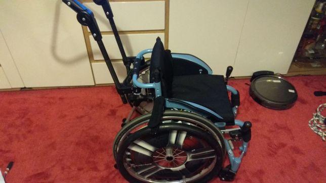 Wózek inwalidzki sagitta kids lekki