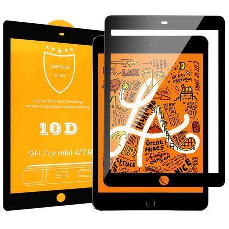 Защитное 10D стекло на iPad Air 1/2/Pro 9.7/10.5, 12.9, mini 1/2/3/4/5