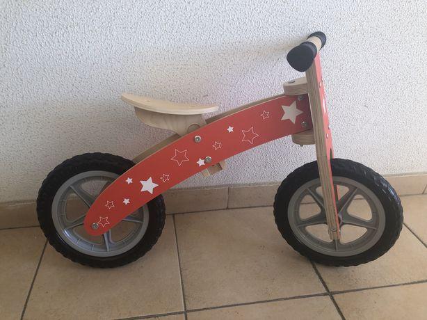 Bicicleta Madeira Criança sem pedais