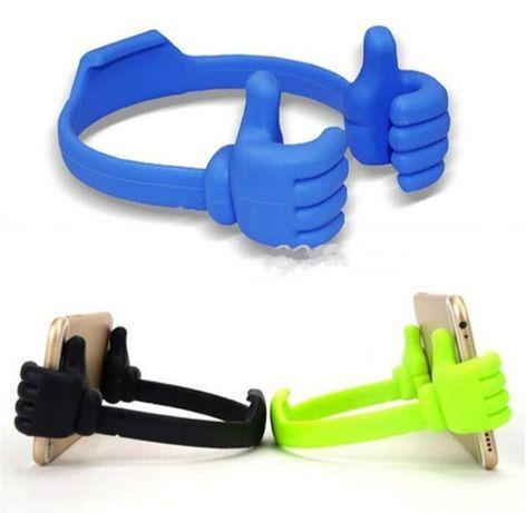 Suporte mãos para telemóvel ou Tablet muito engraçados. Preto