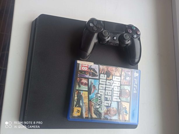 PS4 SLIM 500 GB + gra