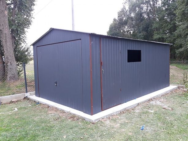 Garaz 3x5 4x6 6x6 8x6 garaze Blaszaki Blaszak SCHOWKI !! PROFIL MOCNY