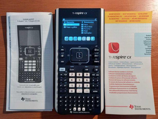 Calculadora Gráfica TI-INSPIRE CX - Como Nova