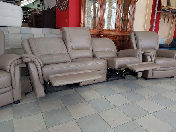 Кожаный комплект диван шкіряний диван мебель мебель из Европы
