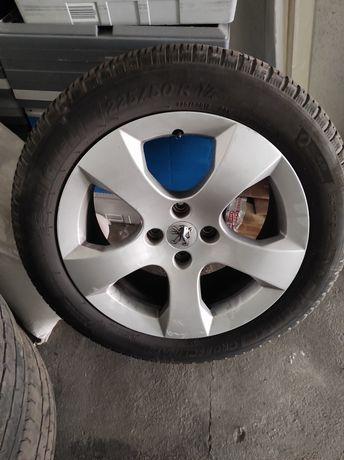 Jantes 17 Peugeot com pneus Michelin 225/50/17