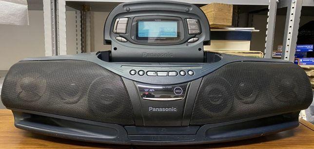 #012 日本 (Japan) Легендарная КОБРА магнитофон Panasonic RX-DT95