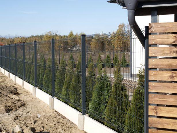 Panele ogrodzeniowe- 1,3/fi 4. Ogrodzenia - Panel 51 drutów pionowych