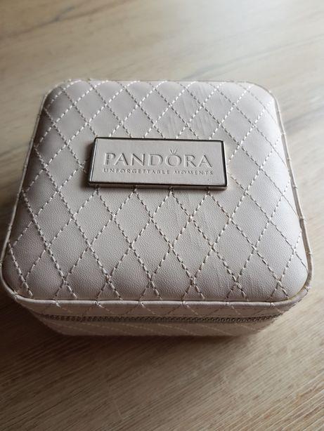 Guarda-Jóias Pandora Quadrado Rosa