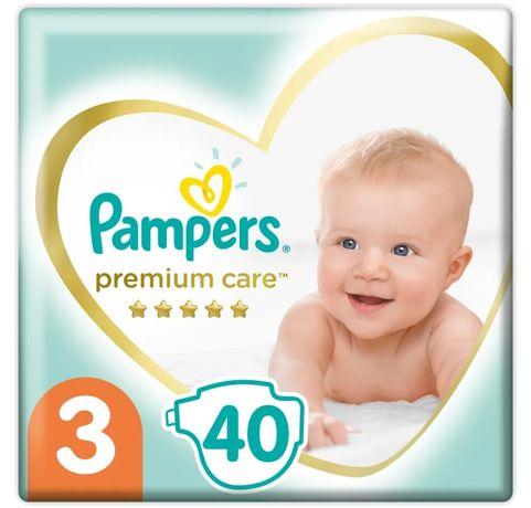Pampers Premium Care 3 40шт или 120шт
