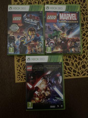 Xbox 360 Lego Marvel Super Hereos, Video Game, Star Wars Przebudzenie!