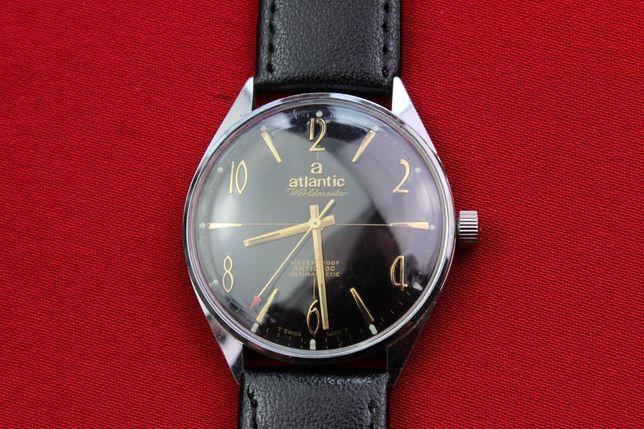 Zegarek Atlantic SWISS MADE czarny