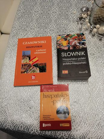 Zestaw książek do j.hiszpańskiego