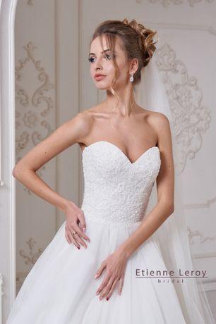Свадебное дизайнерское платье, р.42, 44, 46, s, m, l