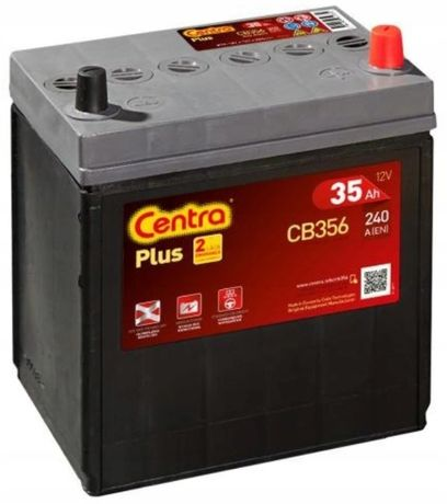 Akumulator Centra Plus CB356 12V 35Ah 240A P+ Kraków Tico EB356