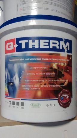 Q-Therm cienkowarstwowa wodorozcieńczalna masa termoizolacyjna