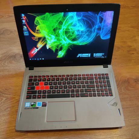 ИГРОВОЙ НОУТБУК Asus Rog Strix Gl502(4K i7-7700 Gtx1070 ) MSI Nitro