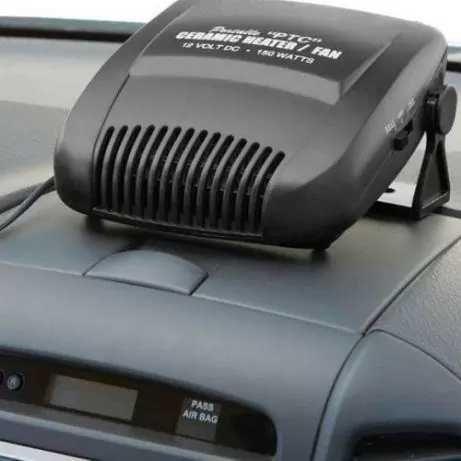 Автомобильный обогреватель, 150W питание от прикуривателя, автопечка