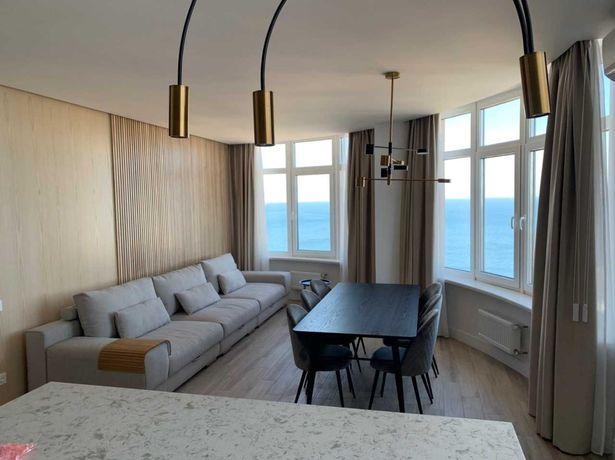 Двухкомнатная квартира  с прямым видом моря. 44 Жемчужина. Аркадия