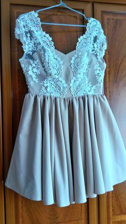 Śliczna sukienka koronka koronkowa loola ML.