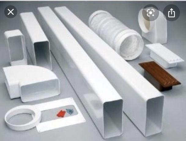Монтаж установка вентиляции / дымоходов