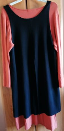 Sukienka dwuwarstowowa roz 48