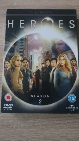 Serial Herosi heroes sezon 2 DVD