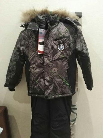 Зимний костюм 116 - 122 см. Куртка и полукомбинезон зима