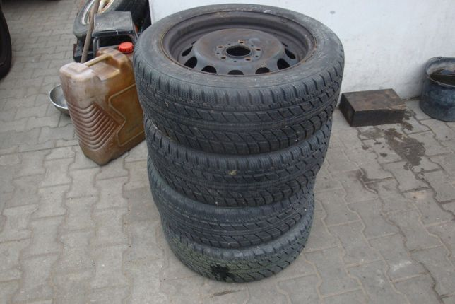 Koła zima 4 sztuki BMW 1 E87 E88 195/55/16 GT RADIAL (3512) 5x120 6mm