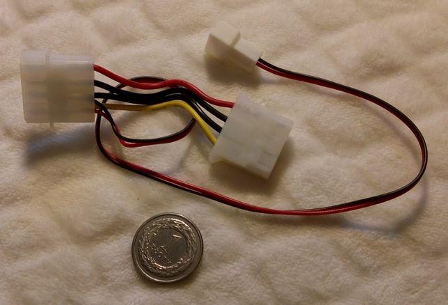 Nowy kabel komputerowy 4-Pin na 2-Pin (33cm)