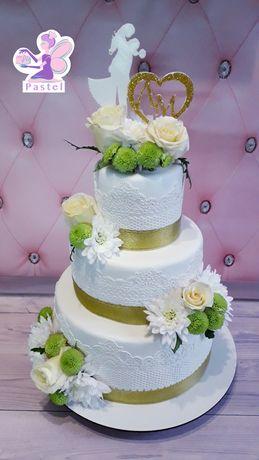 Свадебные торты и торты на юбилей