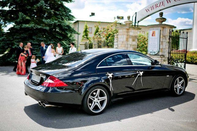 Samochód auto do ślubu na wesele Mercedes CLS BMW 7 VW Tiguan