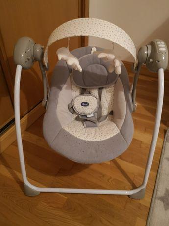 Espreguiçadeira de baloiço bebe