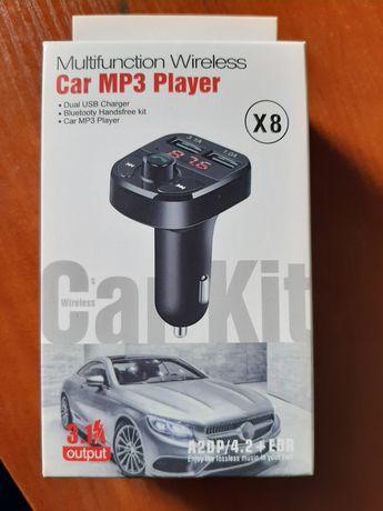 FM модулятор с блютуз в авто