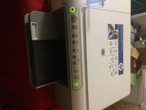 Drukarka HP photosmart 5200 - urządzenie wielofunkcyjne.
