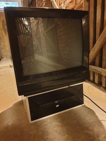 Rodzynek PRL! Telewizor kolorowy z Pewexu marki Sharp